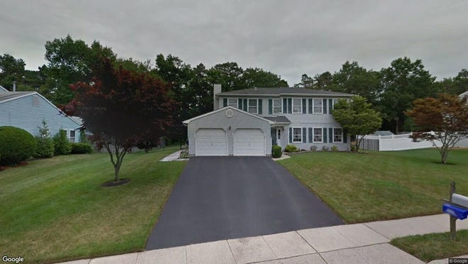 This Google Street View image shows the approximate location of 1955 Bricksburg Court in Toms River. The property at this address changed hands in April 2019, when Moshe and Leah Blech bought the property from Michael G and Colleen M Gagliano for $410,000.