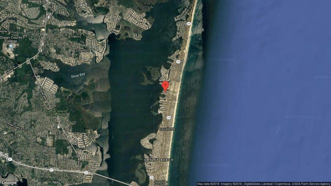 This aerial photo shows the approximate location of 3212 Marine Road in Toms River. The property at this address changed hands in April 2019, when Christopher and Rosemarie James bought the property from Richard Rothery  and Michael Iuliano  for $649,000.