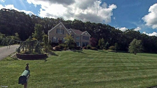 This Google Street View image shows the approximate location of 120 Aimee Drive in Freehold Township. The property at this address changed hands in May 2019, when Vincent and Kristen Reformato  bought the property from Sean E and Laura A Carolan  for $890,000.