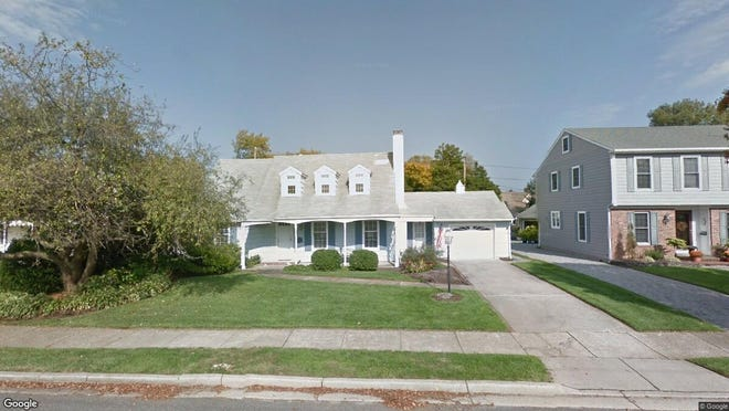 This Google Street View image shows the approximate location of 409 Sea Girt Ave{dot} in Sea Girt. The property at this address changed hands in May 2019, when Christopher R and Gail L Flammer  bought the property from Jarrod R and Katharine M Quigley  for $1,300,000.