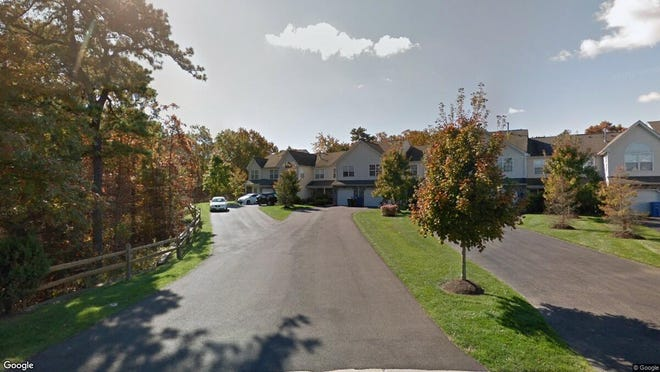 This Google Street View image shows the approximate location of 23 Nutmeg Court in Tinton Falls. The property at this address changed hands in May 2019, when  Toni Anne Lisanti  bought the property from  Craig A Woehnker  for $298,500.