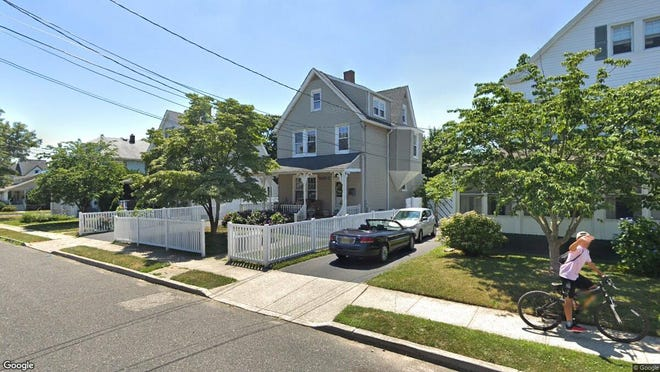 This Google Street View image shows the approximate location of 71 W{dot} Highland Ave{dot} in Atlantic Highlands. The property at this address changed hands in May 2019, when  Richard J Gustafson  bought the property from  Susan Fairgrieve  for $422,000.