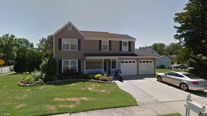 This Google Street View image shows the approximate location of 30 Plymouth Drive in Howell. The property at this address changed hands in May 2019, when  Kimberly A Arms  and  Timothy Poling Jr{dot}   bought the property from William and Jean Carlino  for $430,000.