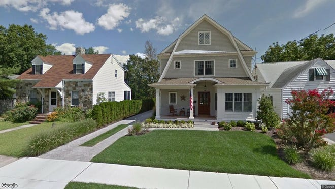 This Google Street View image shows the approximate location of 86 Mclean Ave{dot} in Manasquan. The property at this address changed hands in May 2019, when Anthony and Noreen Farinacci  bought the property from Thomas and Elizabeth Bovitz  for $1,350,000.