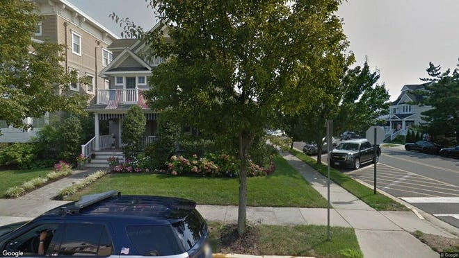 This Google Street View image shows the approximate location of 137 Sylvania Ave{dot} in Avon. The property at this address changed hands in May 2019, when Geoffrey and Heidi Allen  bought the property from John Joseph and Judith N O'Connell  for $1,611,000.