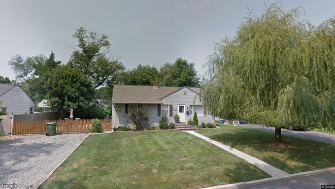 This Google Street View image shows the approximate location of 11 Reynolds Drive in Eatontown. The property at this address changed hands in May 2019, when Alejandro E and Vianca Frias- Portuondo  bought the property from  Michael J Gallagher  for $307,000.