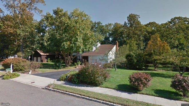 This Google Street View image shows the approximate location of 77 Mindy Lane in Eatontown. The property at this address changed hands in May 2019, when Stanley and Susan Cohen  bought the property from Michael J and Jane P Krynicki  for $601,000.