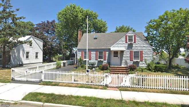 This Google Street View image shows the approximate location of 108 Bay Ave{dot} in Atlantic Highlands. The property at this address changed hands in May 2019, when  Vincent Tahamont Jr{dot}  and  Elise Tenney   bought the property from executor Nancy L Acerra  for $399,000.