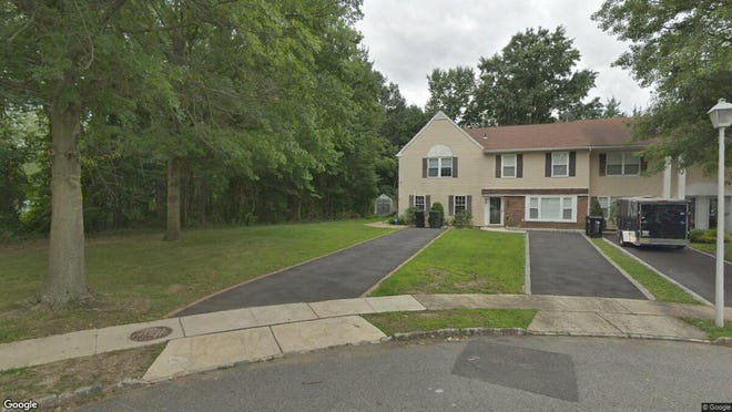 This Google Street View image shows the approximate location of 45 Fieldcrest Way in Hazlet. The property at this address changed hands in May 2019, when  Gary Smiley  bought the property from  Malerett Holdings, LLC  for $262,500.