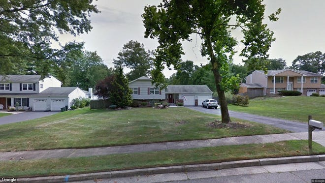 This Google Street View image shows the approximate location of 15 Little John Road in Manalapan. The property at this address changed hands in May 2019, when Joseph and Ashley Mundy  bought the property from  Anthony Forte ,  Dawn M Dodrill  and  D Dodrill   for $440,000.
