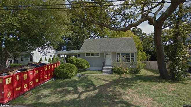 This Google Street View image shows the approximate location of 128 Morris Ave{dot} in Neptune City. The property at this address changed hands in May 2019, when  Nicholas Carstens  and  Bobb Shoenberger   bought the property from  Christopher A Jeune  for $310,000.