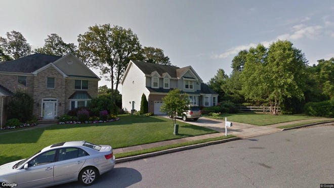 This Google Street View image shows the approximate location of 4 Lebanon Drive in Brielle. The property at this address changed hands in May 2019, when Martin J and Cheryl A Mchugh  bought the property from Thomas and Lisa Bovino  for $880,000.