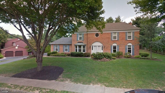 This Google Street View image shows the approximate location of 4 Crestview Court in Marlboro. The property at this address changed hands in June 2019, when Scott B and Danielle Semaya  bought the property from Ira J and Beth Kapnick  for $610,000.