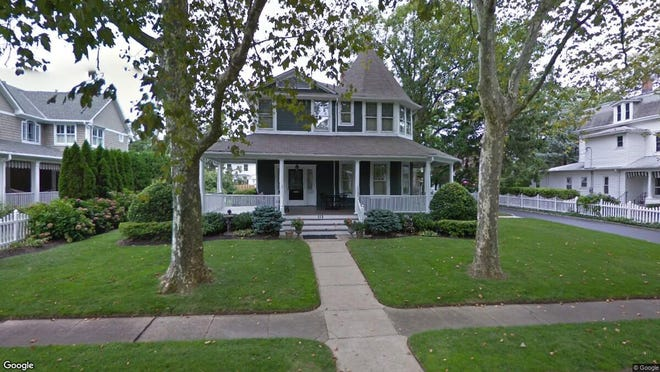 This Google Street View image shows the approximate location of 112 Worthington Ave{dot} in Spring Lake. The property at this address changed hands in April 2019, when  Mlz Corp, LLC  bought the property from  Constance V Nolan  for $2,775,000.