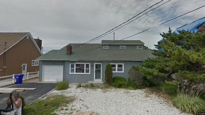 This Google Street View image shows the approximate location of 312 Barkentine Lane in Brick. The property at this address changed hands in May 2019, when Daniel and Andrea Attanasio  bought the property from Richard T and Helene Banca  for $825,000.