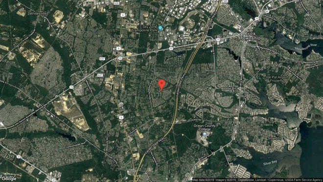 This aerial photo shows the approximate location of 2142 Beltane Road in Toms River. The property at this address changed hands in May 2019, when  Robert J Durham  and  Elizabeth A Smyth   bought the property from John P and Helen M King  for $330,000.