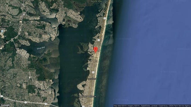 This aerial photo shows the approximate location of 112 W{dot} Pompano Way in Toms River. The property at this address changed hands in May 2019, when  Lisa M Carr  bought the property from Jeffrey D, Deborah A and J A Piatt  for $326,000.