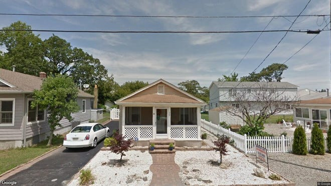 This Google Street View image shows the approximate location of 347 E{dot} Lakewood Ave{dot} in Ocean Gate. The property at this address changed hands in May 2019, when William A and Jeanine B Stark  bought the property from  Josephine Perrotta  for $284,000.