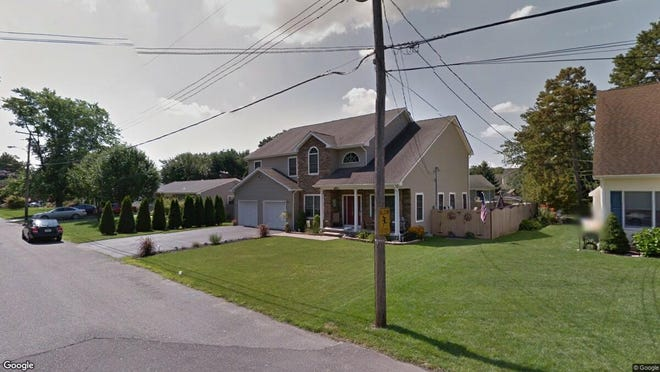 This Google Street View image shows the approximate location of 97 Laurelwood Road in Brick. The property at this address changed hands in May 2019, when  Kathryn L Ferreira  bought the property from Jeannea and Seaman C Sakosits  for $519,000.