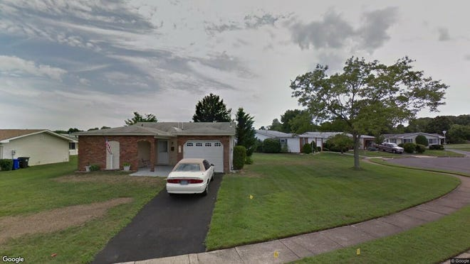 This Google Street View image shows the approximate location of 162 Clay Circle in Brick. The property at this address changed hands in April 2019, when  Loretta B Glucksman  bought the property from  Dorothy Giddes  for $220,000.