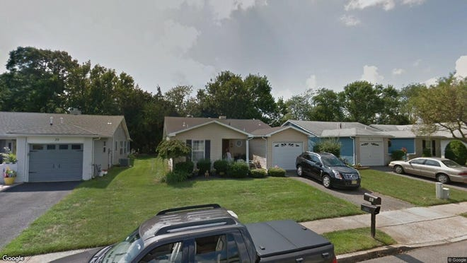 This Google Street View image shows the approximate location of 41 Mansfield Drive in Brick. The property at this address changed hands in May 2019, when  Susan Endreson  bought the property from  From, Stanley L & E S Trust and others  for $238,750.