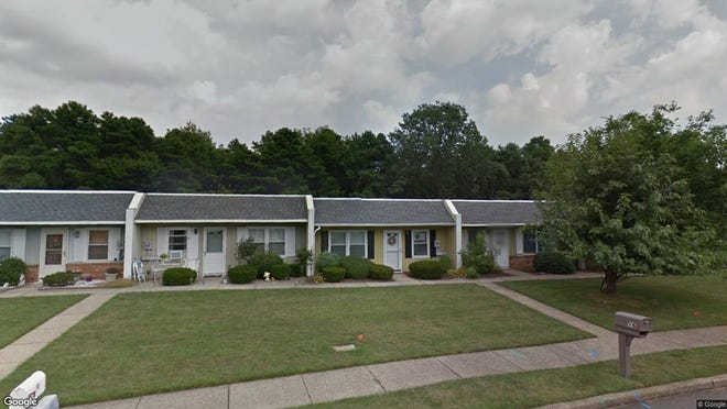 This Google Street View image shows the approximate location of 16 Regent Court in Brick. The property at this address changed hands in April 2019, when  Deborah Romero  bought the property from  20183Wy-23 LLC  for $139,900.