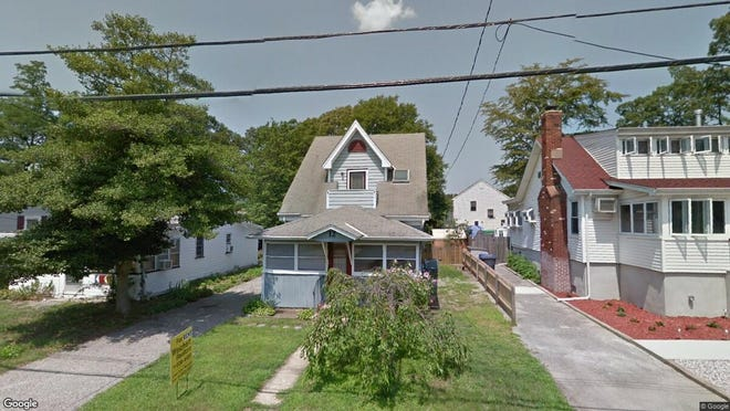 This Google Street View image shows the approximate location of 12 Adair Drive in Brick. The property at this address changed hands in March 2019, when David D and Santa Pino  bought the property from  Gregory D Cole Jr{dot}  for $165,000.