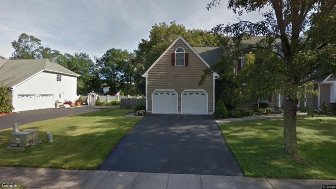 This Google Street View image shows the approximate location of 1396 Sequoia Circle in Toms River. The property at this address changed hands in May 2019, when William and Kimberly Butterworth  bought the property from Kent G and Susan M Weiss  for $530,000.