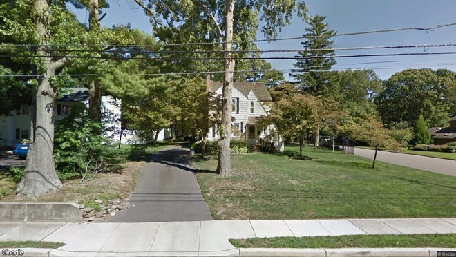 This Google Street View image shows the approximate location of 13 Dickinson Ave{dot} in Toms River. The property at this address changed hands in May 2019, when Matthew J and Michelle Scutti  bought the property from Nathan J and Ciara M Miker  for $465,000.