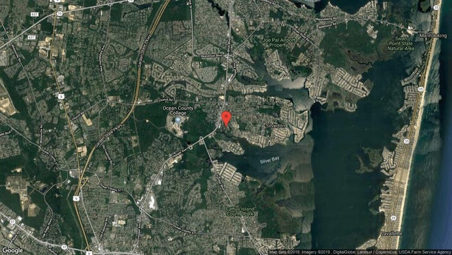 This aerial photo shows the approximate location of 1005 Lighthouse Lane in Toms River. The property at this address changed hands in May 2019, when  Noel Vega Jr{dot}  bought the property from  Kelly Lynch  and  Brian Moscogiuri   for $223,000.