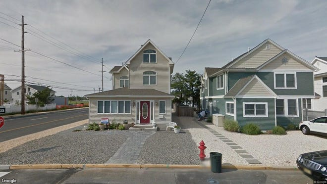 This Google Street View image shows the approximate location of 111 Newark Ave{dot} in Lavallette. The property at this address changed hands in April 2019, when Angelo N and Dianne M Basso  bought the property from Michael and Lynn Gerardo  for $732,500.