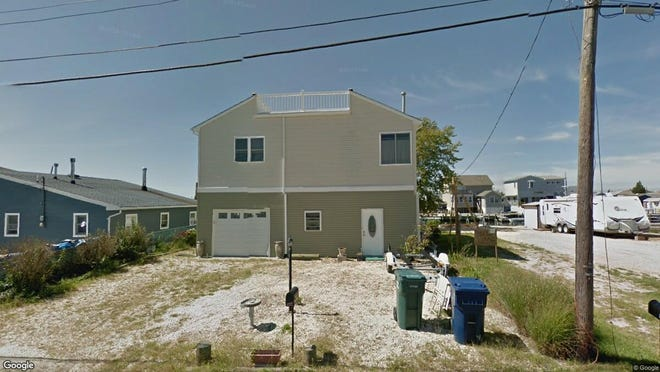 This Google Street View image shows the approximate location of 105 N{dot} Burgee Drive in Little Egg Harbor. The property at this address changed hands in April 2019, when Michael W and Jacqueline C Spotts  bought the property from  Estates Of Ac LLC  for $260,000.