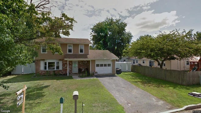 This Google Street View image shows the approximate location of 402 Sixth St{dot} in Waretown. The property at this address changed hands in May 2019, when  Justin Winther  and  Kristina Gutjahr   bought the property from  Dennis C Macri Jr{dot}  and  Heather Macri   for $223,000.