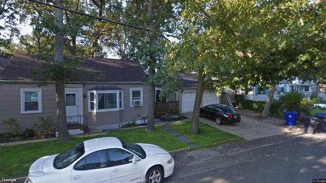 This Google Street View image shows the approximate location of 914 Lynnwood Ave{dot} in Brick. The property at this address changed hands in May 2019, when Anthony and Donna M Nieves  bought the property from William J and Bianca Wahlers  for $282,700.