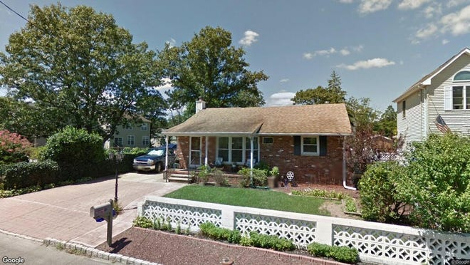 This Google Street View image shows the approximate location of 32 Sage Road in Toms River. The property at this address changed hands in April 2019, when  Brett Ferrier  bought the property from Lynne and Kennedy-Li H Kennedy  for $213,000.
