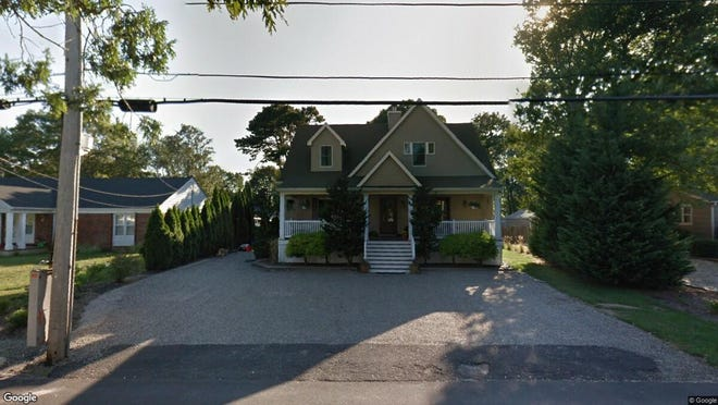 This Google Street View image shows the approximate location of 3704 River Road in Point Pleasant. The property at this address changed hands in May 2019, when Michael and Christine J Berko  bought the property from Angele and Christopher Mayer  for $530,000.