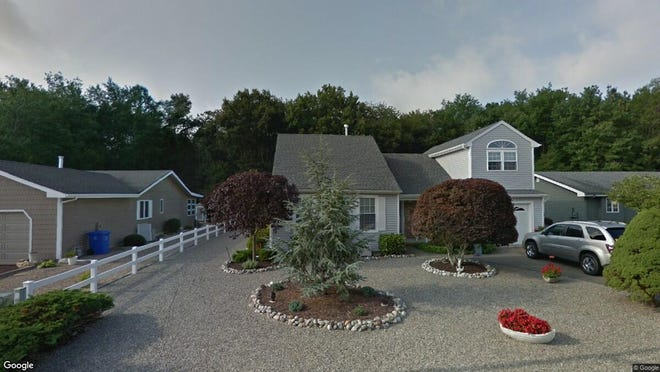 This Google Street View image shows the approximate location of 136 Timberlake Drive in Stafford. The property at this address changed hands in May 2019, when Frank and Kathy Chinigo  bought the property from Thomas J and Catherine Annunziata  for $339,000.