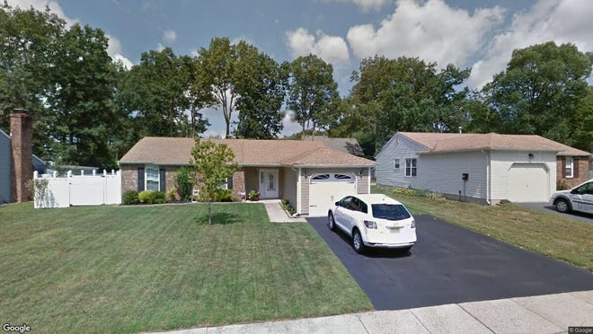This Google Street View image shows the approximate location of 13 Roberta Drive in Howell. The property at this address changed hands in May 2019, when  Charles Jonathan Hernandez and others  bought the property from Nicholas and Robin Slein  for $332,000.