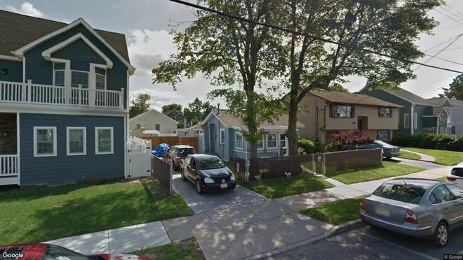 This Google Street View image shows the approximate location of 413 Fifteenth Ave{dot} in Belmar. The property at this address changed hands in April 2019, when  Cody Zucker  bought the property from  Deborah Robinson  for $370,000.