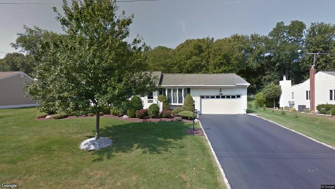 This Google Street View image shows the approximate location of 11 Knollwood Road in Holmdel. The property at this address changed hands in June 2019, when Francis J and Isabel Reardon  bought the property from  Mary Festa and  Debra Loprete  for $455,000.
