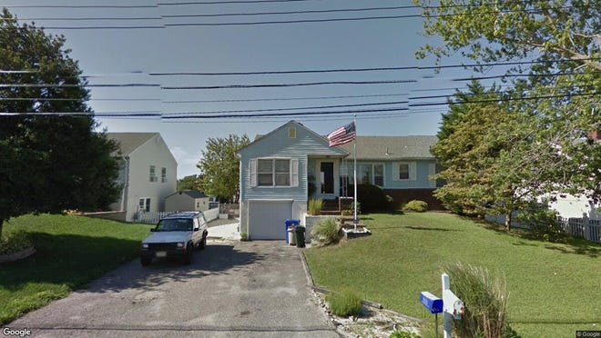 This Google Street View image shows the approximate location of 21 Culebra Ave{dot} in Toms River. The property at this address changed hands in May 2019, when  Patricia Sarno  bought the property from  Michael Tardibuono  for $560,000.