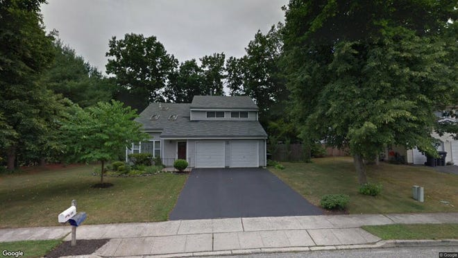 This Google Street View image shows the approximate location of 194 Liberty Bell Road in Toms River. The property at this address changed hands in May 2019, when Yakov K and Devorah R Cohen  bought the property from  Rosalie Mclaughlin  for $386,000.