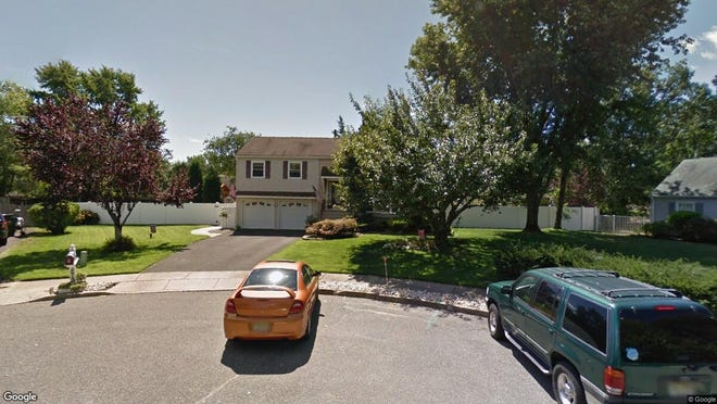 This Google Street View image shows the approximate location of 873 Eaglehurst Court in Toms River. The property at this address changed hands in May 2019, when  Robert R Burreci  bought the property from  Felicia Gogol  for $340,000.