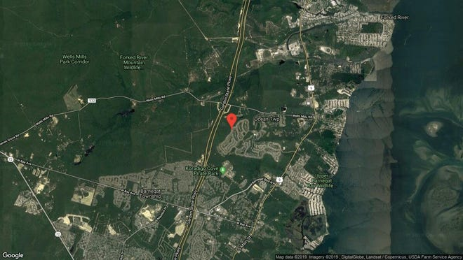 This aerial photo shows the approximate location of 187 Brigantine Blvd{dot} in Waretown. The property at this address changed hands in May 2019, when  Barbara Parr  bought the property from  Kathleen M Hagen  for $345,000.