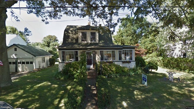 This Google Street View image shows the approximate location of 1117 Pine Bluff Ave{dot} in Point Pleasant. The property at this address changed hands in May 2019, when  Justin R Printz and  C M Mcgowan  bought the property from  Alan Lavitola and  Marilyn Manno  for $430,000.