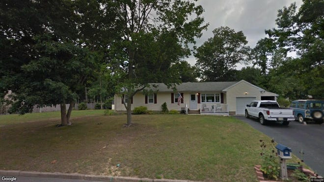 This Google Street View image shows the approximate location of 21 Fourth St{dot} in Barnegat. The property at this address changed hands in May 2019, when John A and Samantha N Misak  bought the property from Michael L and Alicia M Palmieri  for $205,000.