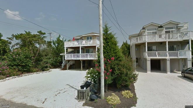 This Google Street View image shows the approximate location of 2 E{dot} 13 St{dot} in Barnegat Light. The property at this address changed hands in May 2019, when  Mark Andrew Paske  bought the property from David and Ellen Huber  for $952,500.