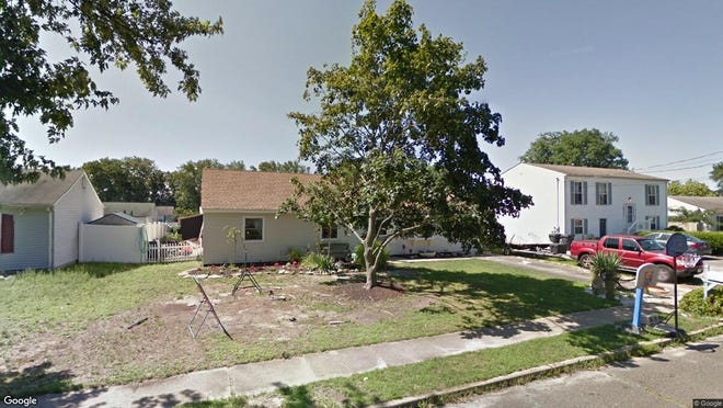 This Google Street View image shows the approximate location of 1231 Bewick St{dot} in Toms River. The property at this address changed hands in May 2019, when Charles J and Jean E Paterson  bought the property from James and Rosemary C Martin  for $280,000.