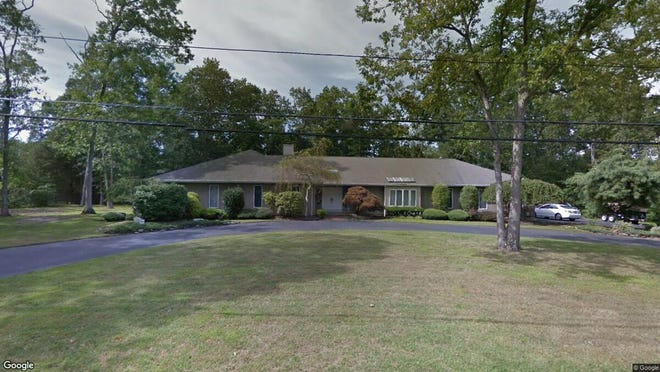 This Google Street View image shows the approximate location of 1582 Beaver Hollow Drive in Toms River. The property at this address changed hands in May 2019, when Gary and Terrie Bouchard  bought the property from Kerry D and Michelle F Estomin  for $470,000.