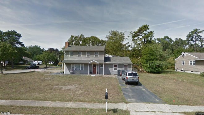 This Google Street View image shows the approximate location of 24 Yorkshire Drive in Toms River. The property at this address changed hands in May 2019, when Anthony and Rosanne D'Auria  bought the property from Rocco and Nina C Reffie  for $411,000.